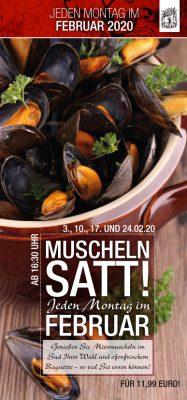 Muscheln Satt