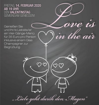 Valentinstag 14.02.20